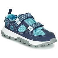 Schoenen Kinderen Sandalen / Open schoenen Timberland TREELINE FISHERMAN Blauw
