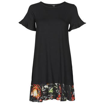 Textiel Dames Korte jurken Desigual KALI Zwart