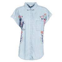 Textiel Dames Overhemden Desigual SULLIVAN Blauw