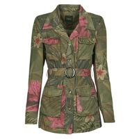 Textiel Dames Jasjes / Blazers Desigual CAMOASIS Kaki