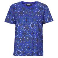 Textiel Dames T-shirts korte mouwen Desigual LYON Marine