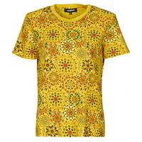 Textiel Dames T-shirts korte mouwen Desigual LYON Geel