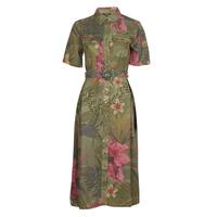 Textiel Dames Lange jurken Desigual ANGELA Kaki