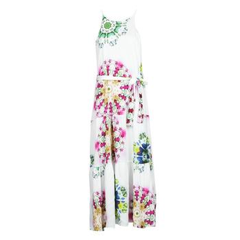 Textiel Dames Lange jurken Desigual SENA Wit