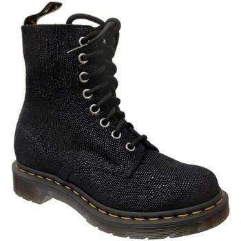 Schoenen Dames Laarzen Dr Martens 1460 pascal glitter ray Zwarte glitter