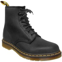 Schoenen Dames Laarzen Dr Martens 1460 smooth Zwart
