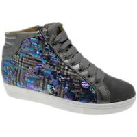 Schoenen Dames Hoge sneakers Calzaturificio Loren LOC3921gr grigio