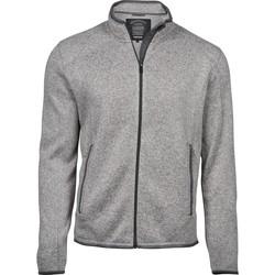 Textiel Heren Fleece Tee Jays T9615 Grijze Melange
