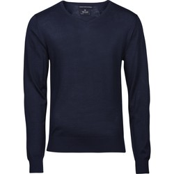 Textiel Heren Truien Tee Jays T6001 Marine