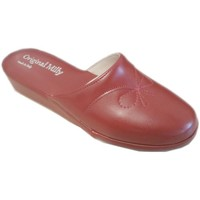 Schoenen Dames Leren slippers Milly MILLY3200ros rosso