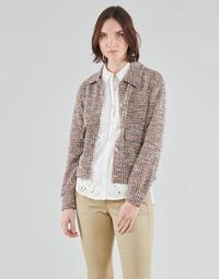 Textiel Dames Jasjes / Blazers Cream CHANA JACKET Multicolour