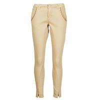 Textiel Dames 5 zakken broeken Cream HOLLY TWILL PANT Beige
