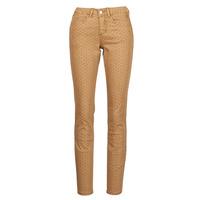 Textiel Dames 5 zakken broeken Cream LOTTE PRINTED Beige