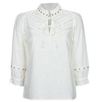 Textiel Dames Tops / Blousjes Cream NITTY BLOUSE Beige