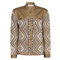 Textiel Dames Wind jackets Cream SOLDE JACKET Beige