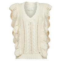 Textiel Dames Truien Cream ANNOLINA KNIT SLOPOVER Wit