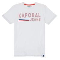 Textiel Jongens T-shirts korte mouwen Kaporal EZIO Wit