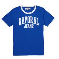 Textiel Jongens T-shirts korte mouwen Kaporal METRO Blauw