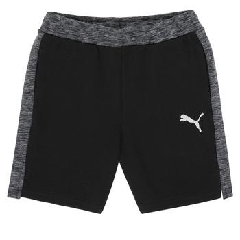 Textiel Jongens Korte broeken / Bermuda's Puma EVOSTRIPE SHORTS Zwart