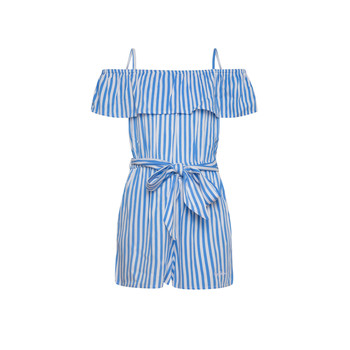 Textiel Meisjes Jumpsuites / Tuinbroeken Pepe jeans LILI Blauw