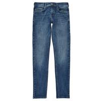 Textiel Jongens Skinny Jeans Pepe jeans FINLY Blauw