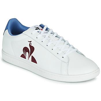 Schoenen Heren Lage sneakers Le Coq Sportif MASTER COURT Wit / Blauw