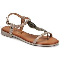 Schoenen Dames Sandalen / Open schoenen Mustang ANITTA Brons
