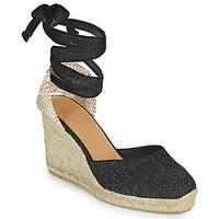 Schoenen Dames Sandalen / Open schoenen Castaner CARINA Zwart / Goud