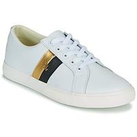 Schoenen Dames Lage sneakers Lauren Ralph Lauren JANSON II Wit / Goud