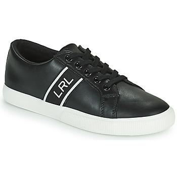 Schoenen Dames Lage sneakers Lauren Ralph Lauren JANSON II Zwart
