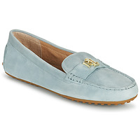 Schoenen Dames Mocassins Lauren Ralph Lauren BARNSBURY FLATS CASUAL Blauw
