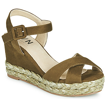 Schoenen Dames Sandalen / Open schoenen Elue par nous JOHAN Groen