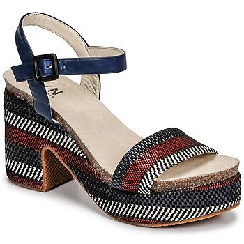Schoenen Dames Sandalen / Open schoenen Elue par nous JOKARY Blauw