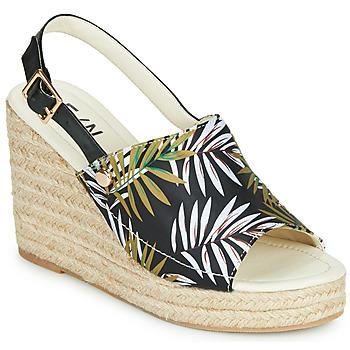 Schoenen Dames Sandalen / Open schoenen Elue par nous JOTTA Zwart