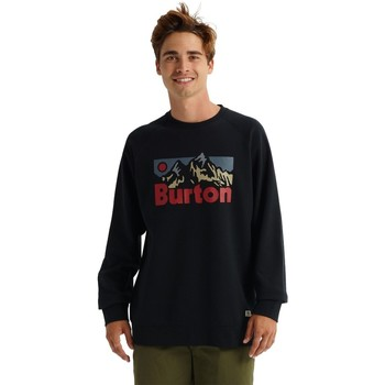 Textiel Heren Sweaters / Sweatshirts Burton Men's  Vista Crew True Black
