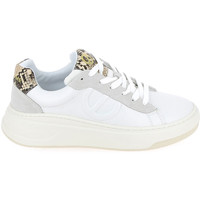 Schoenen Lage sneakers No Name Bridget Trainer Kobra Blanc Wit