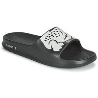 Schoenen Heren slippers Lacoste CROCO 2.0 0721 2 CMA Zwart / Wit
