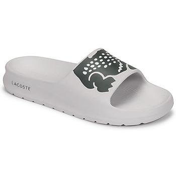 Schoenen Dames slippers Lacoste CROCO 2.0 0721 1 CFA Wit / Zwart