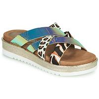 Schoenen Dames Leren slippers Metamorf'Ose JAKOUTE Multicolour