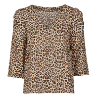 Textiel Dames Tops / Blousjes Moony Mood NOULIETTE Beige / Bruin