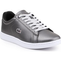 Schoenen Dames Lage sneakers Lacoste Carnaby Evo 317 7-34SPW0010024 silver