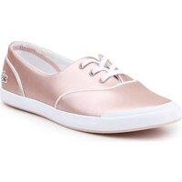 Schoenen Dames Lage sneakers Lacoste Lancelle 3 EYE 117 7-33CAW103115J pink