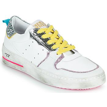 Schoenen Dames Lage sneakers Semerdjian SONA Wit / Zilver