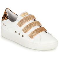Schoenen Dames Lage sneakers Semerdjian GARBIS Wit / Goud