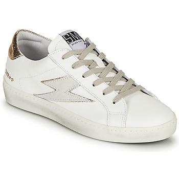Schoenen Dames Lage sneakers Semerdjian CATRI Wit / Goud