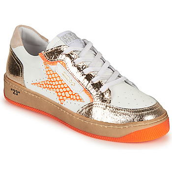 Schoenen Dames Lage sneakers Semerdjian ARTO Wit / Oranje