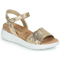 Schoenen Dames Sandalen / Open schoenen Dorking ROCK Goud