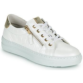Schoenen Dames Lage sneakers Dorking VIP Wit / Zilver