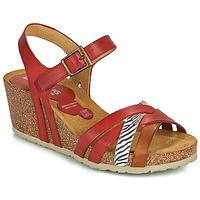 Schoenen Dames Sandalen / Open schoenen Dorking PALMA Rood