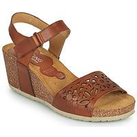 Schoenen Dames Sandalen / Open schoenen Dorking PALMA Bruin